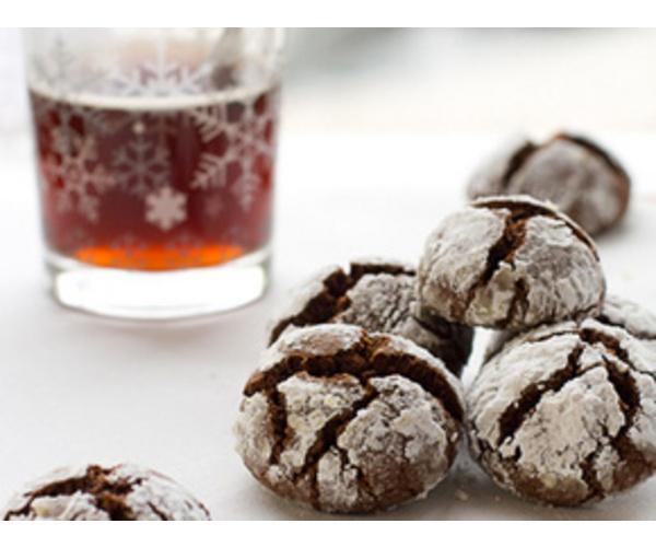 Рецепт                  Шоколадное печенье с кардамоном