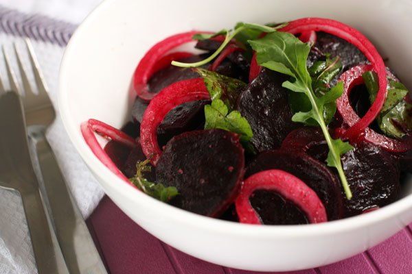 Рецепт                  Салат из свеклы и лука