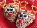 Пирожные Рождественские олени