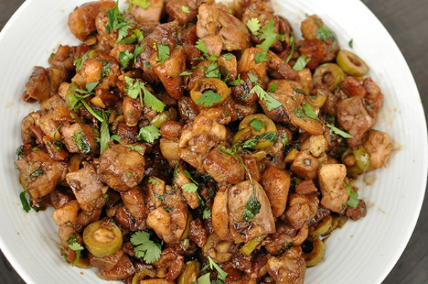 Рецепт                  Жареная курица по-мароккански