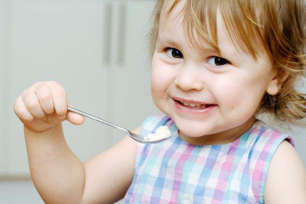 Рисовая каша благотворно действует на нервную систему ребенка
