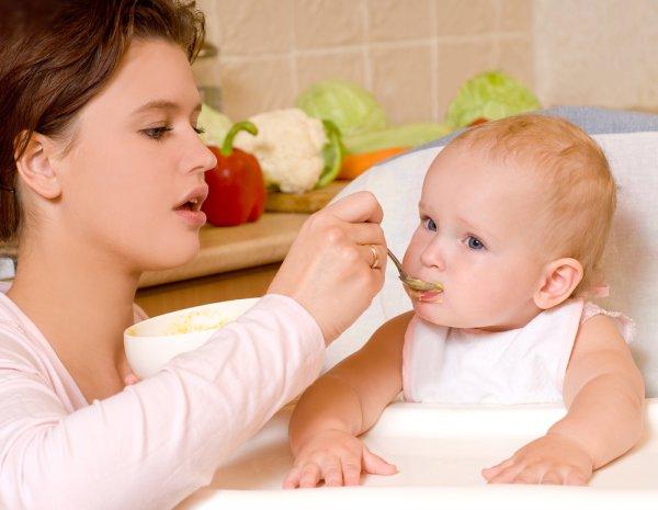 прикорм для детей 5 месяцев
