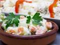 Рецепты на Новый год: Оливье с курицей