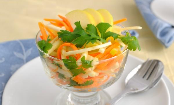 Рецепт                  Тыквенно-яблочный салат