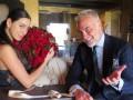 Миллионер Джанлука Вакки станцевал экстремальный танец с подругой