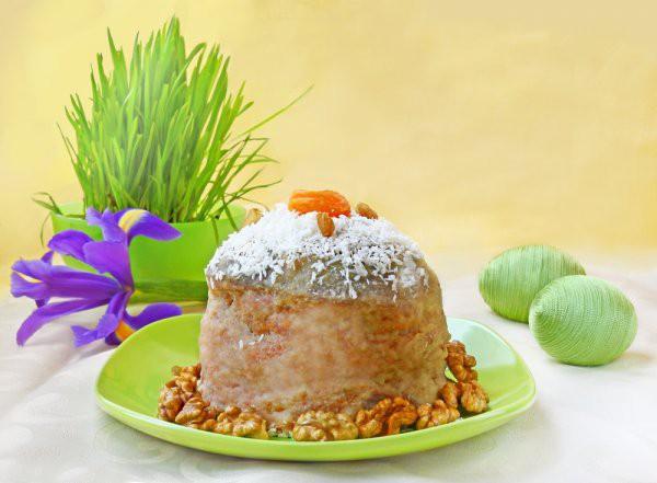 Рецепт                  Пасхальный кулич с коньяком