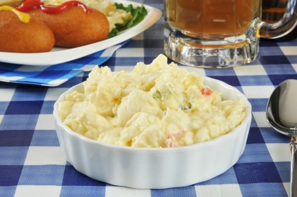 Рецепт                  Блюда для пикника: Картофельный салат