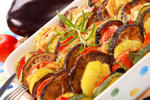 рататуй рецепт с фото пошагово в духовке с картошкой