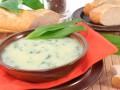 Весенний суп из черемши и картофеля