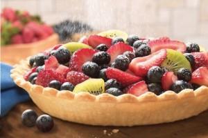 Пирог с летними ягодами