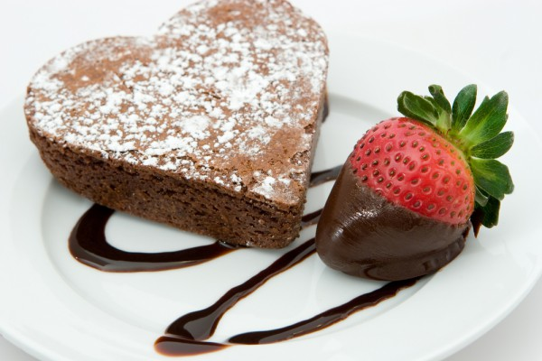 Рецепт                  Рецепты на День Валентина: Шоколадные пирожные