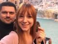 Тарабарова в Риме поделилась фото с любимым