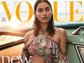 Ирина Шейк попала на обложку Vogue Brazil