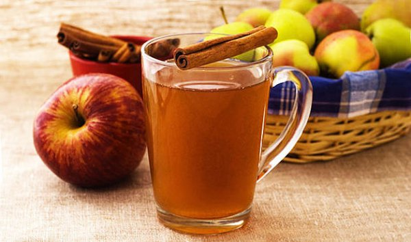 Рецепт                  Горячий яблочный сидр