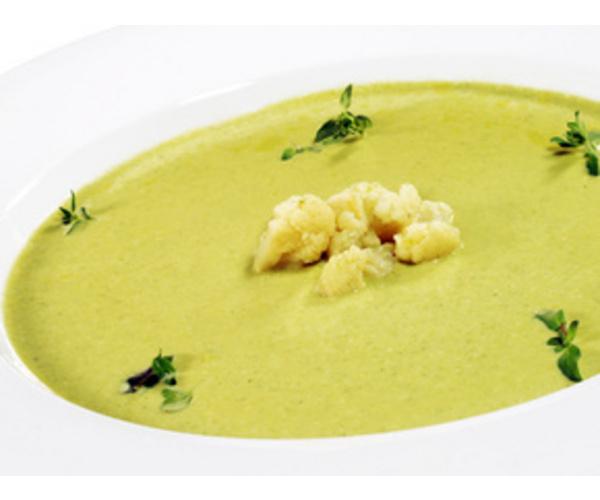 Рецепт                  Суп-пюре из цветной капусты