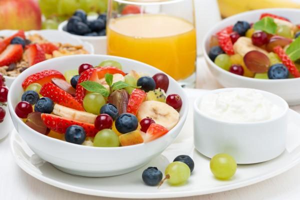 Рецепт                  Летний фруктовый салат