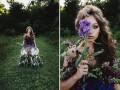 Магия природы: Дизайнеры создали платье из живых цветов