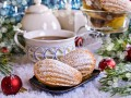 Сладкие подарки на Новый год: Как приготовить мадленки