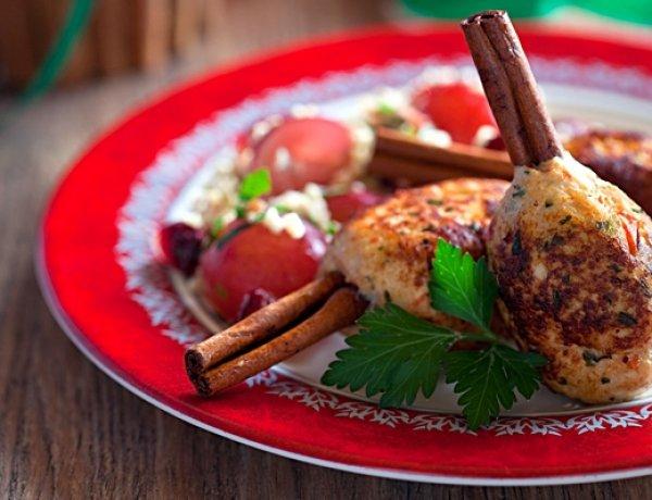 Рецепт                  Куриные котлеты на палочках корицы