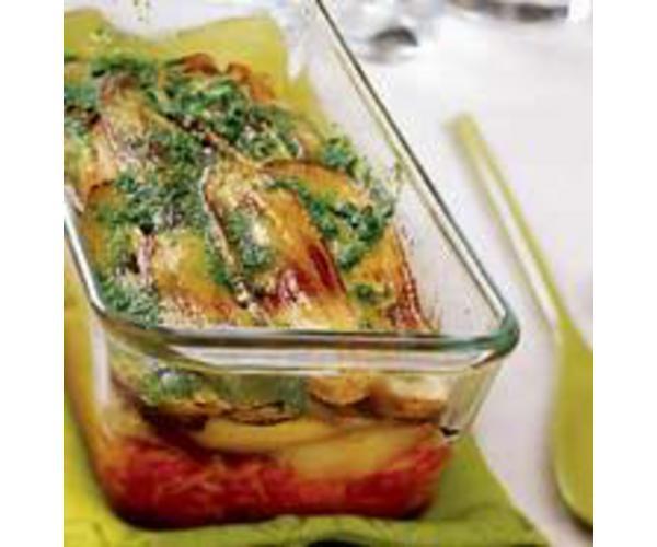Рецепт                  Быстрая вегетарианская мусака