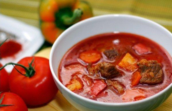 Рецепт                  Венгерский гуляш из говядины