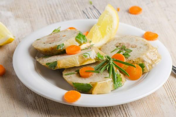 Рецепт                  Пасхальные блюда: Фаршированная рыба