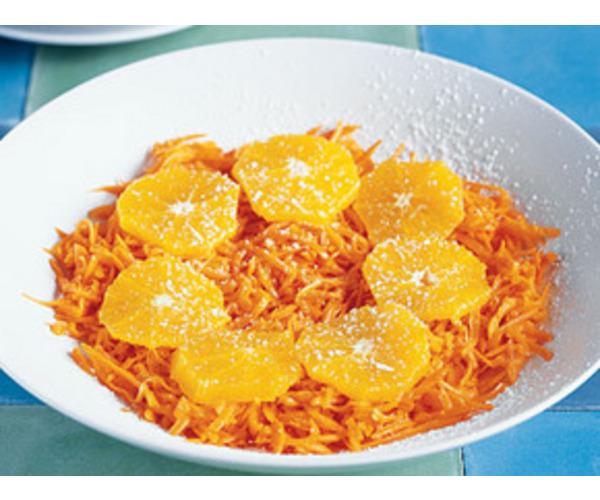 "Рецепт                  Салат ""Оранжевое солнце"""