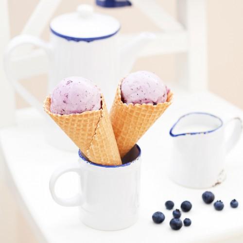 Рецепт                  Черничное мороженое