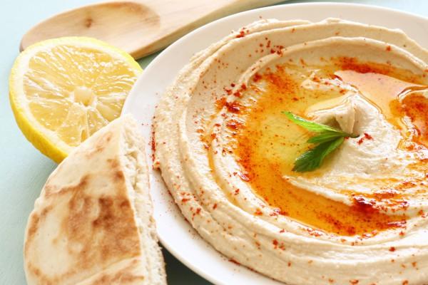 Рецепт                  Рождественский пост 2014-2015: Хумус с чесноком