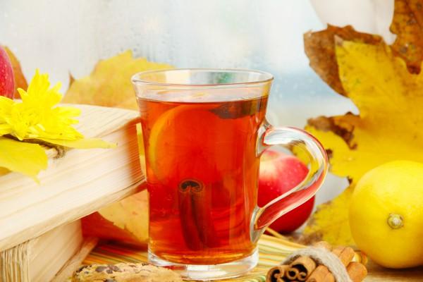 Рецепт                  Осенний грог с корицей и лимоном