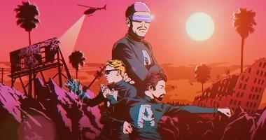 Группа Агонь в честь своего дня рождения представила мультяшный клип