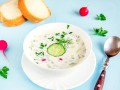 Рецепт окрошки с колбасой: три вкусные идеи