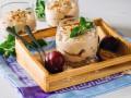 Сливовый десерт с творожным кремом