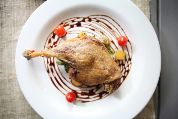 Рецепт                  Новогодние рецепты: Утиная ножка конфи