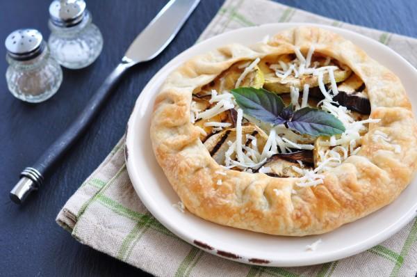Рецепт                  Галета с баклажанами и кабачками