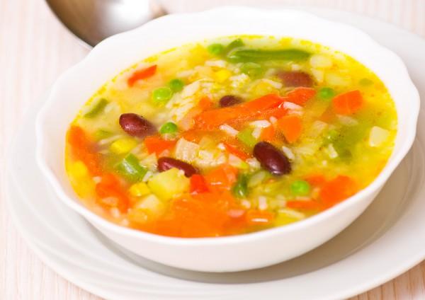 овощной суп с кабачками рецепты с фото