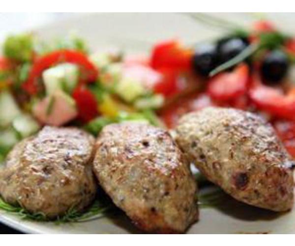 Рецепт                  Котлеты с курицей и грибами