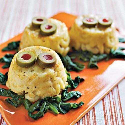 Рецепт                  Рецепт на Хэллоуин: Кексы-монстры