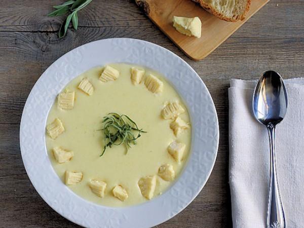 Рецепт                  Картофельно-сырный суп