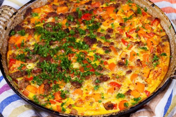 Пицца из картошки в духовке