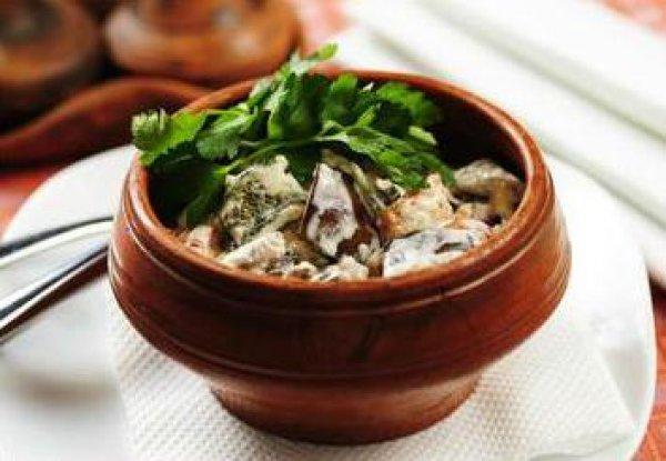Рецепт                  Мясной салат с овощами-гриль
