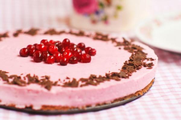 Рецепт                  Клюквенный чизкейк с шоколадом