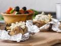 Крошка-картошка: Рецепт с грибами и сыром
