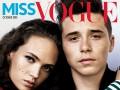 Сын Виктории и Дэвида Бекхэм снялся для Miss Vogue