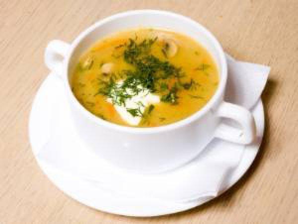 Рецепт                  Суп из шампиньонов