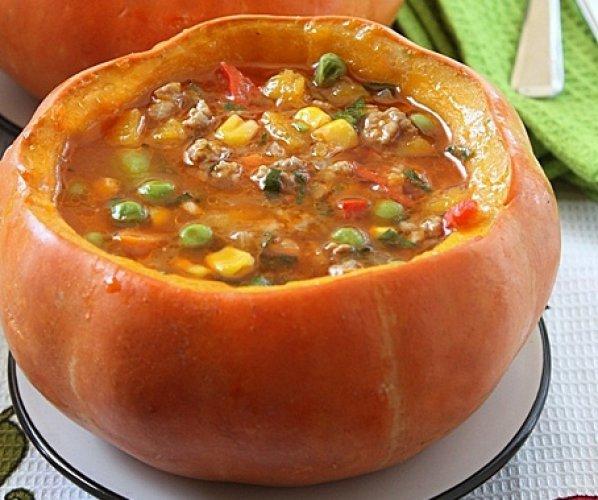 Рецепт                  Мексиканское тыквенное рагу