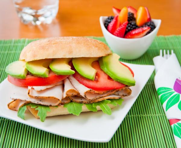 Рецепт                  Летний сэндвич на завтрак