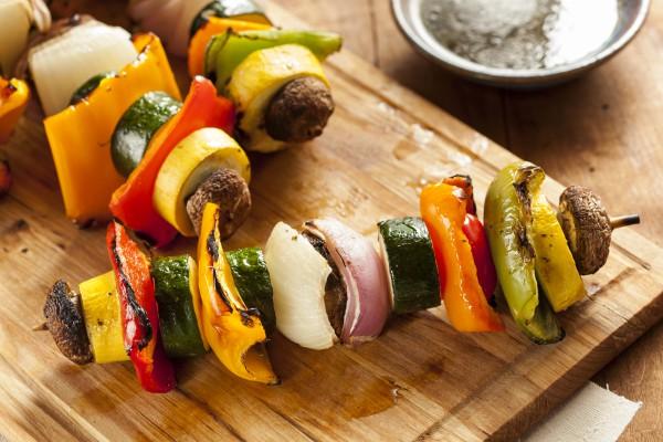 Рецепт                  Шашлык из овощей