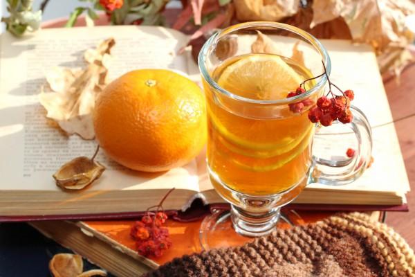 Рецепт                  Мандариновый чай с пряностями