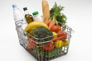 В супермаркете наполняй корзинку только полезными продуктами